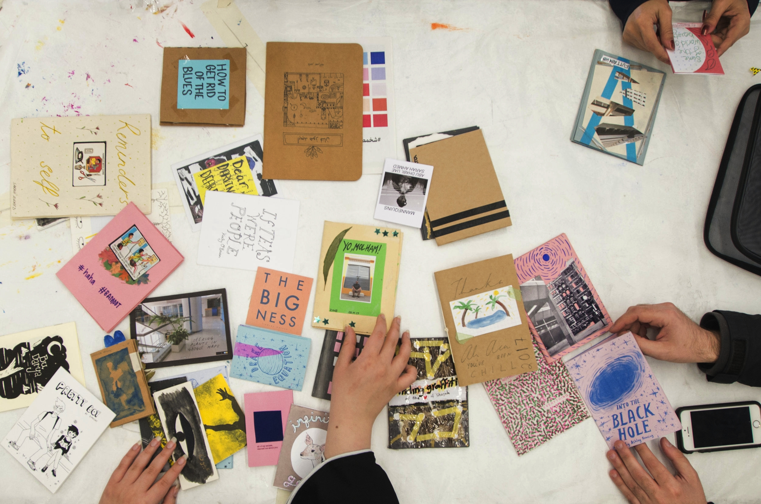 DIY Zine Workshop for Teens Hosted by SF Zine Fest