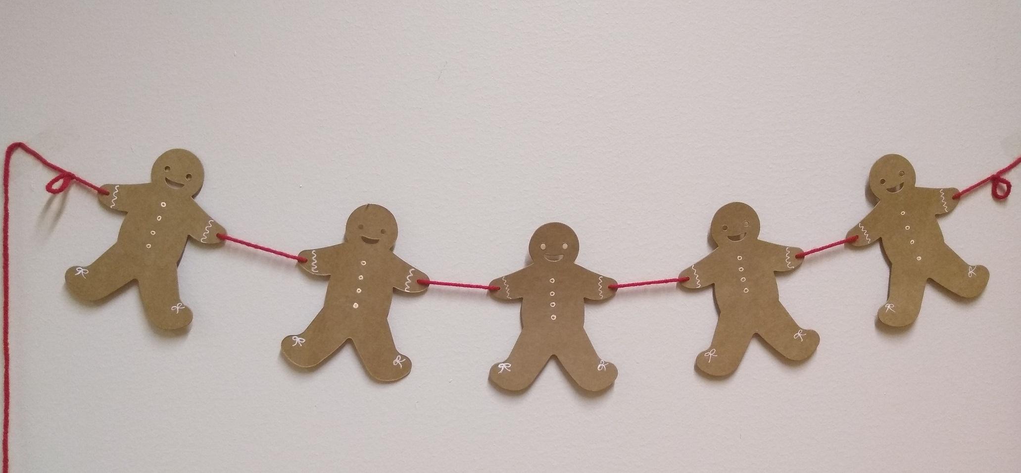 Gingerbread Friend Garlands