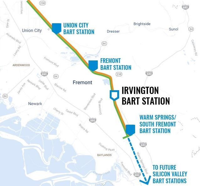 Community Meeting #3 - Irvington BART Station