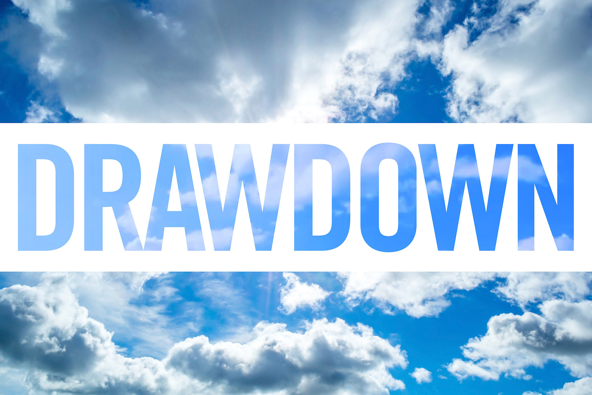 Reversing Global Warming with Project Drawdown