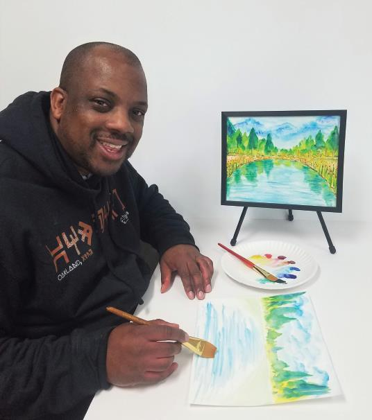 Adult Watercolor Painting - Art is Education!