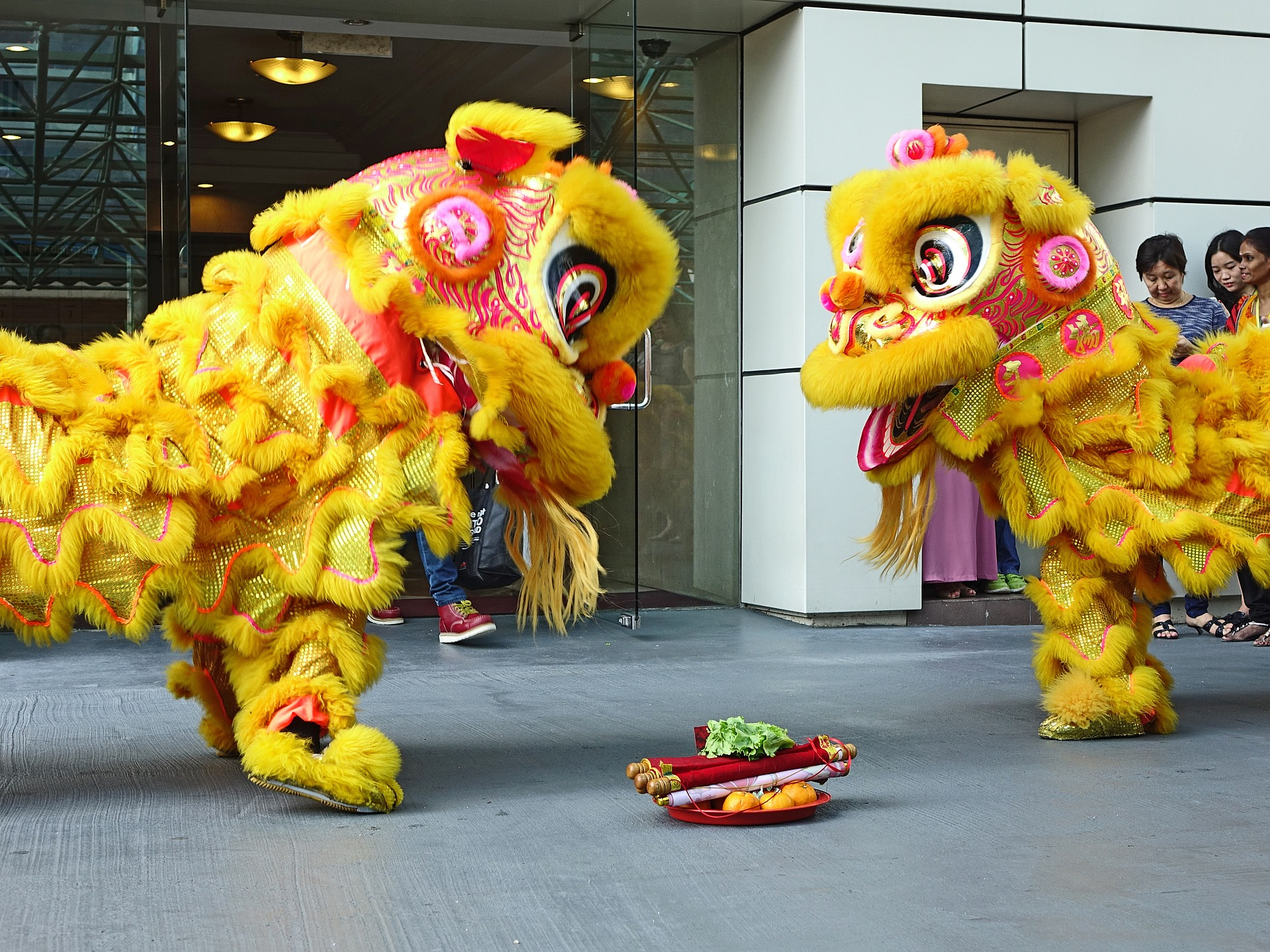 Lunar New Year Lion Dancing