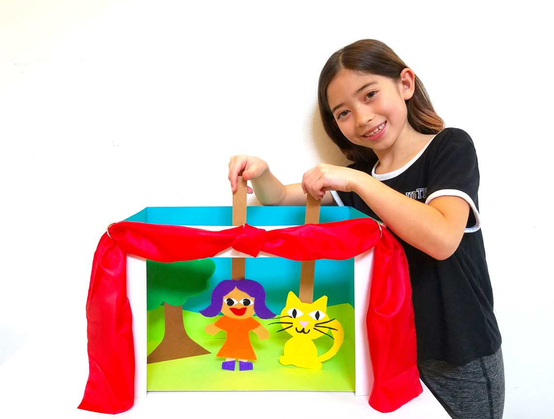 DIY Family Puppet Theater: Art IS Education