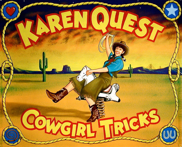 Cowgirl Tricks with Karen Quest