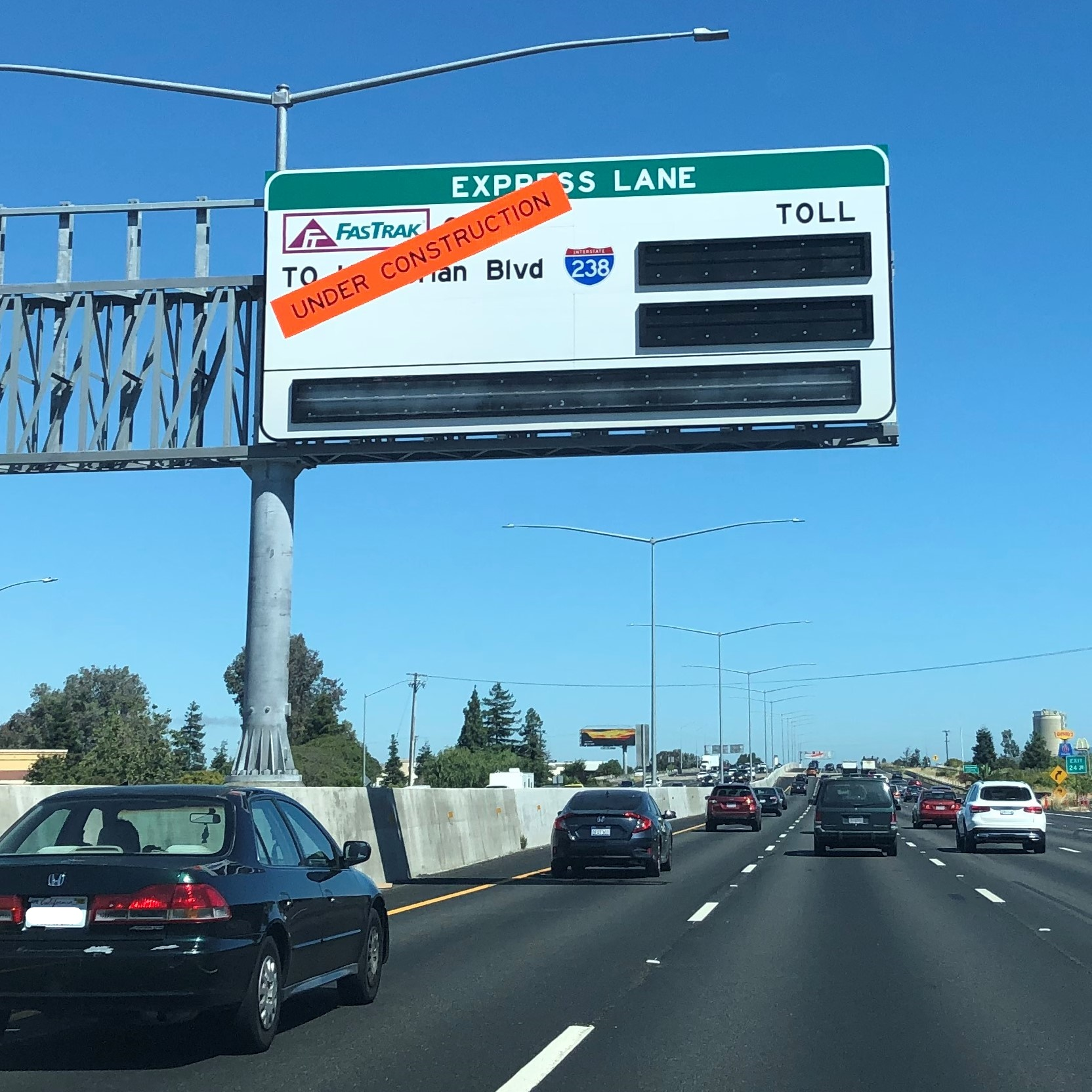 I-880 Express Lanes Tolling Rules