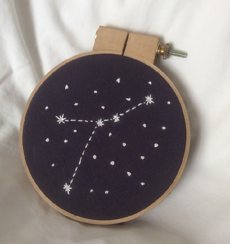 Constellation Embroidery for Adults