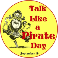 Talk Like a Pirate Day -- Crafts and Activities