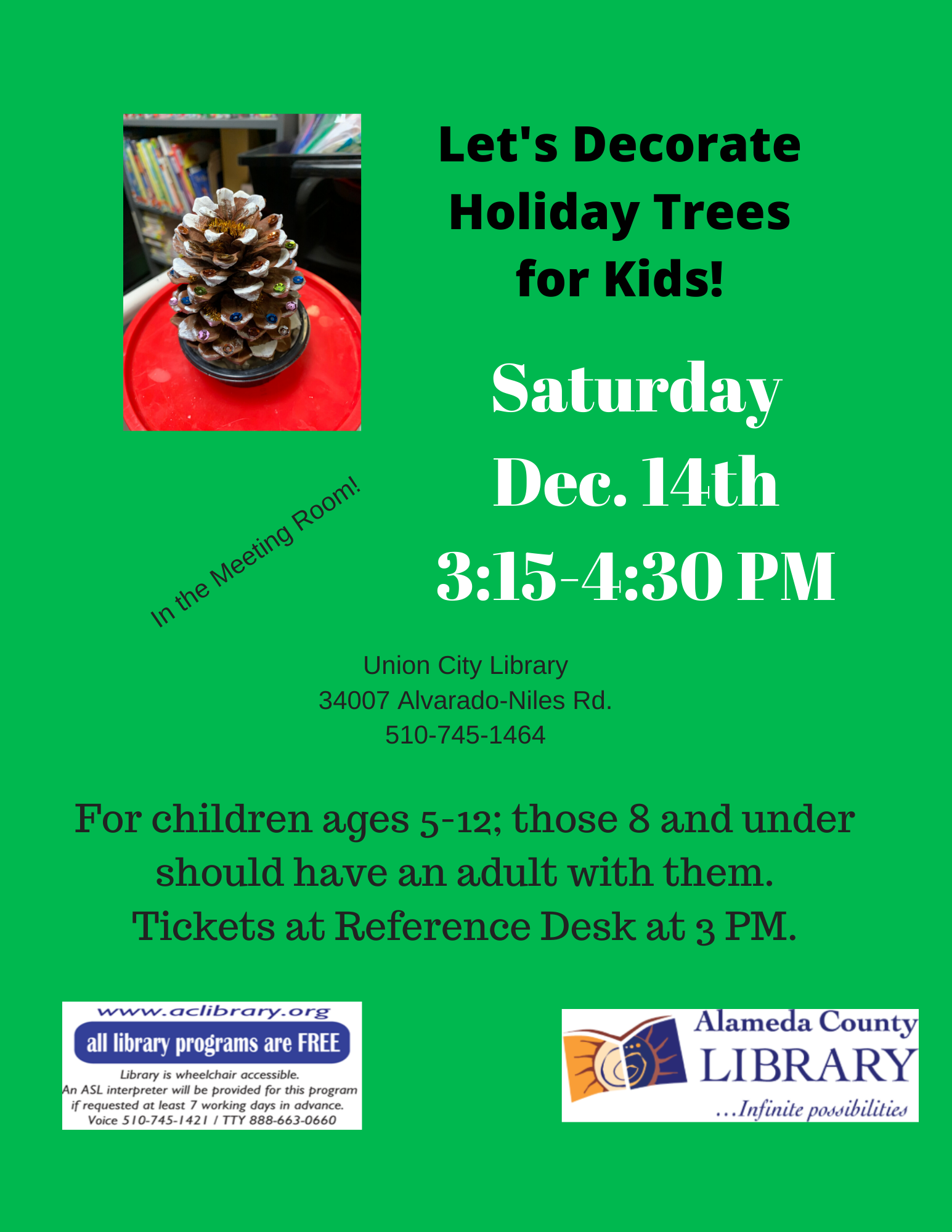 Holiday Trees -- Let's Decorate! -- for Kids