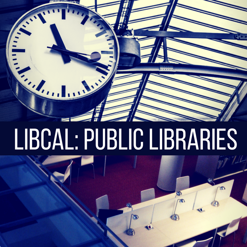 LibCal for Public Libraries: Your Whole Calendaring Kit & Caboodle
