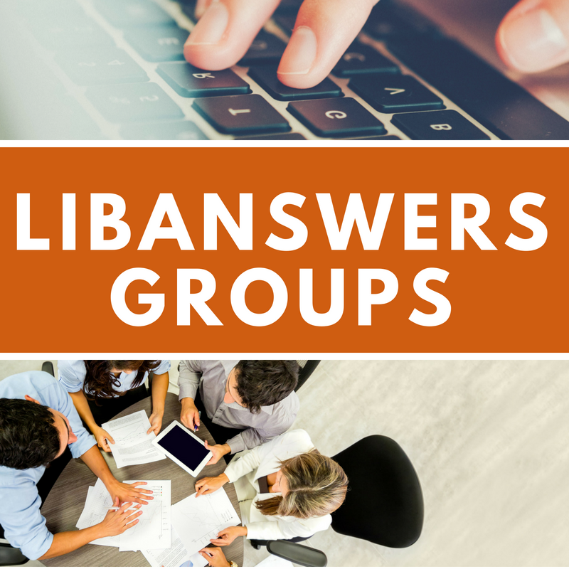 LibAnswers: Best Practices for Groups & FAQs