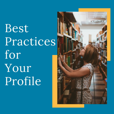 Semester Prep: Best Practices Your Profile
