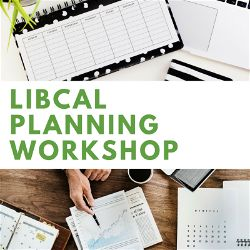 Planning Your LibCal Site Workshop