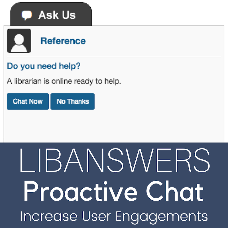 LibAnswers Proactive LibChat Helps You Reach More Users (EU-Optimized Time)