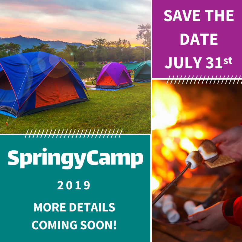 SpringyCamp 2019 (Save the Date!)