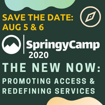 SAVE THE DATE: SPRINGYCAMP
