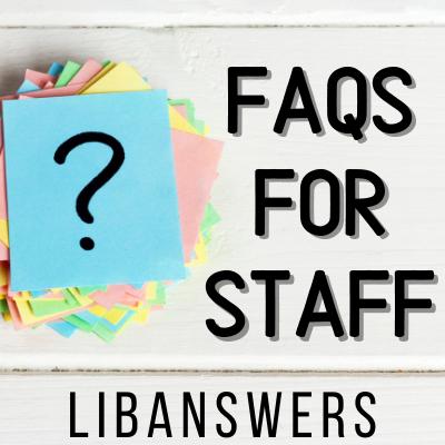 Creating an Internal FAQ Group for Staff