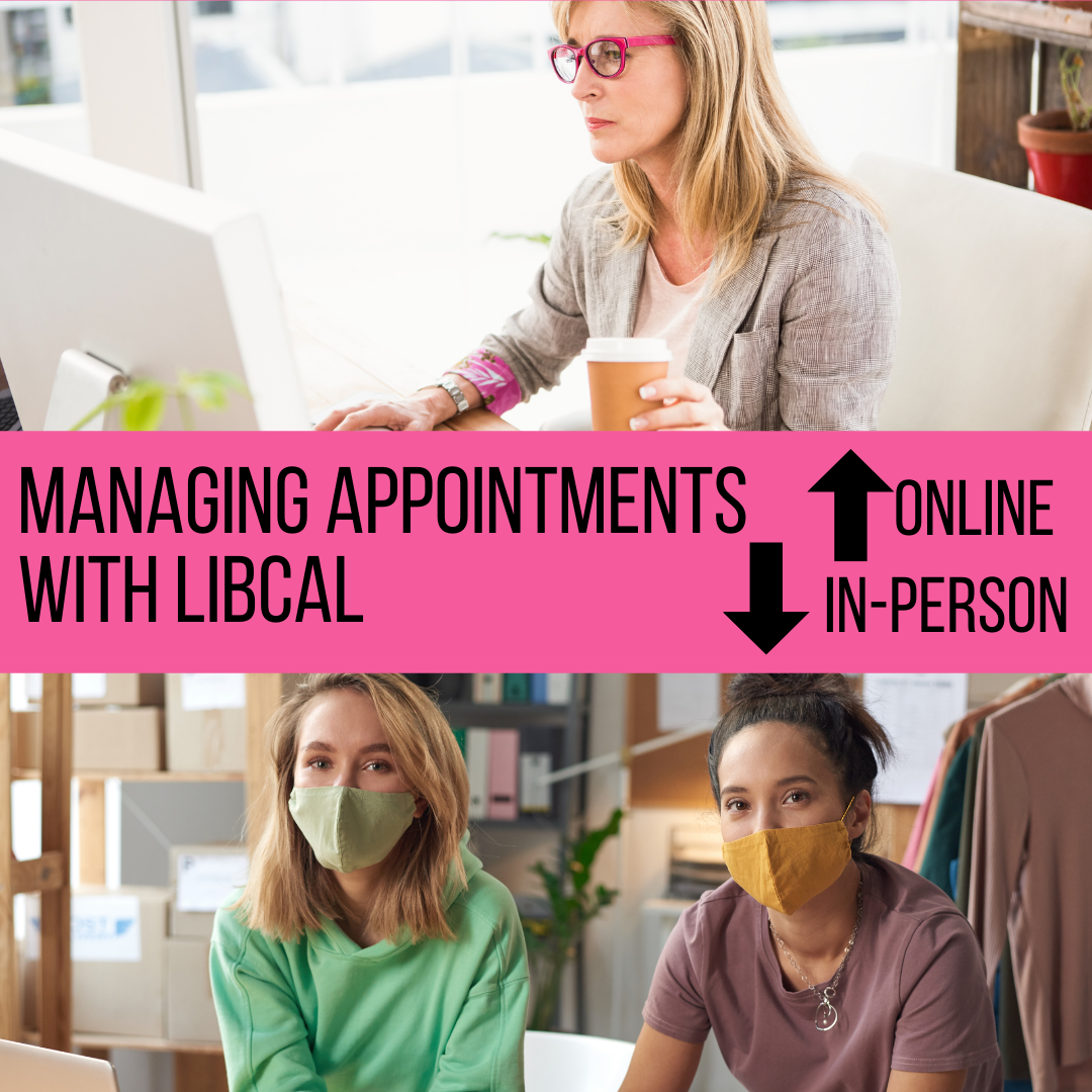 Managing Online and In-Person Appointments