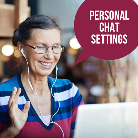 Personal LibChat Settings