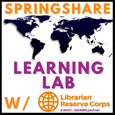 Learning Lab: Springing into Action - The Librarian Reserve Corps (LRC)