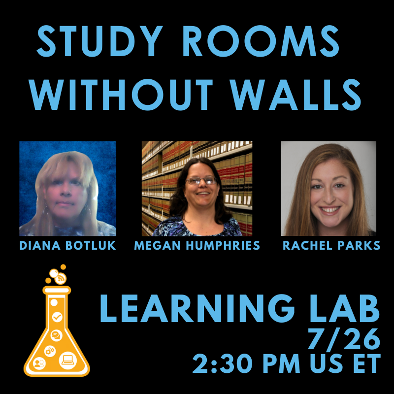 Learning Lab: Study Rooms without Walls with LibCal Appointments