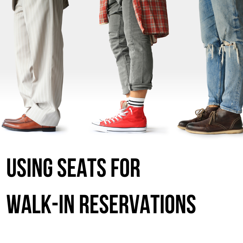 Training Tidbits: Using LibCal Seats for Walk-in reservations