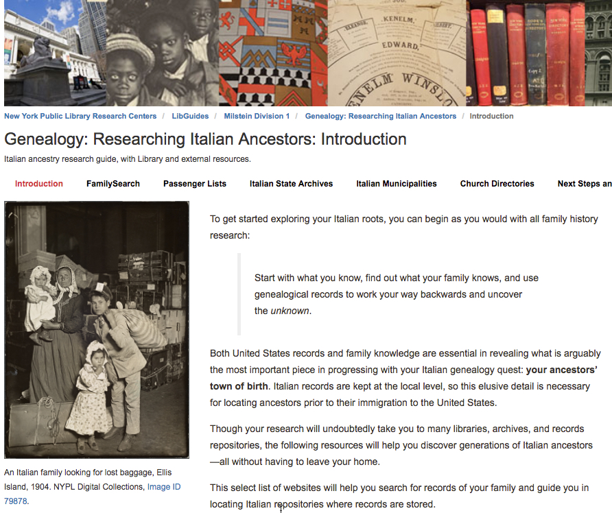 Promote Local History & Genealogy Services with LibGuides
