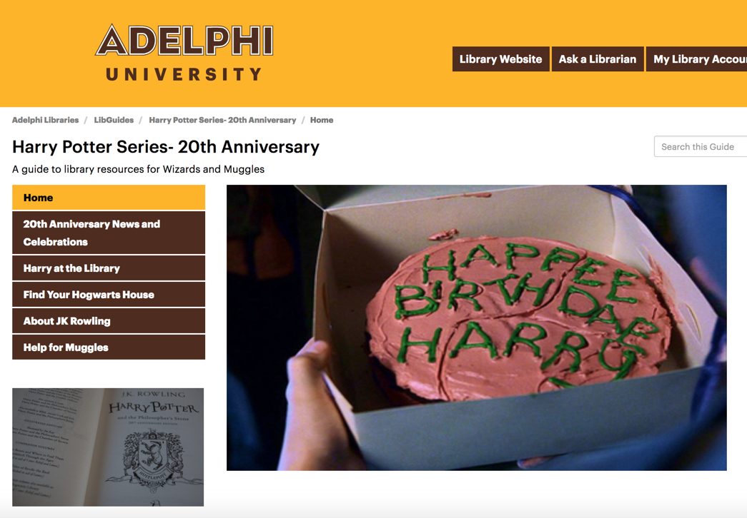 Adelphi Univ. Libraries: #TrendingNow: LibGuides to Promote Current Events