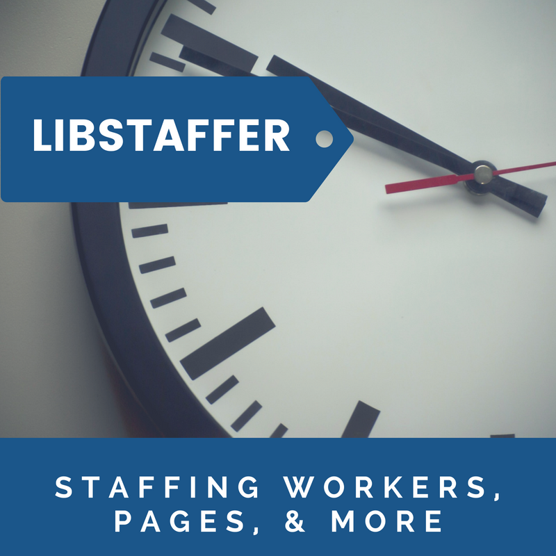 Staffing Workers, Volunteers, & Pages with LibStaffer