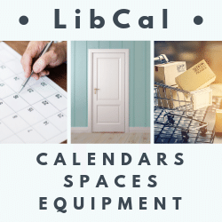 LibCal: Calendars + Spaces + Equipment... Oh My!