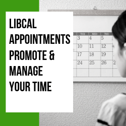 LibCal: Appointments: Meeting Your Users (Streamed Live on Facebook)