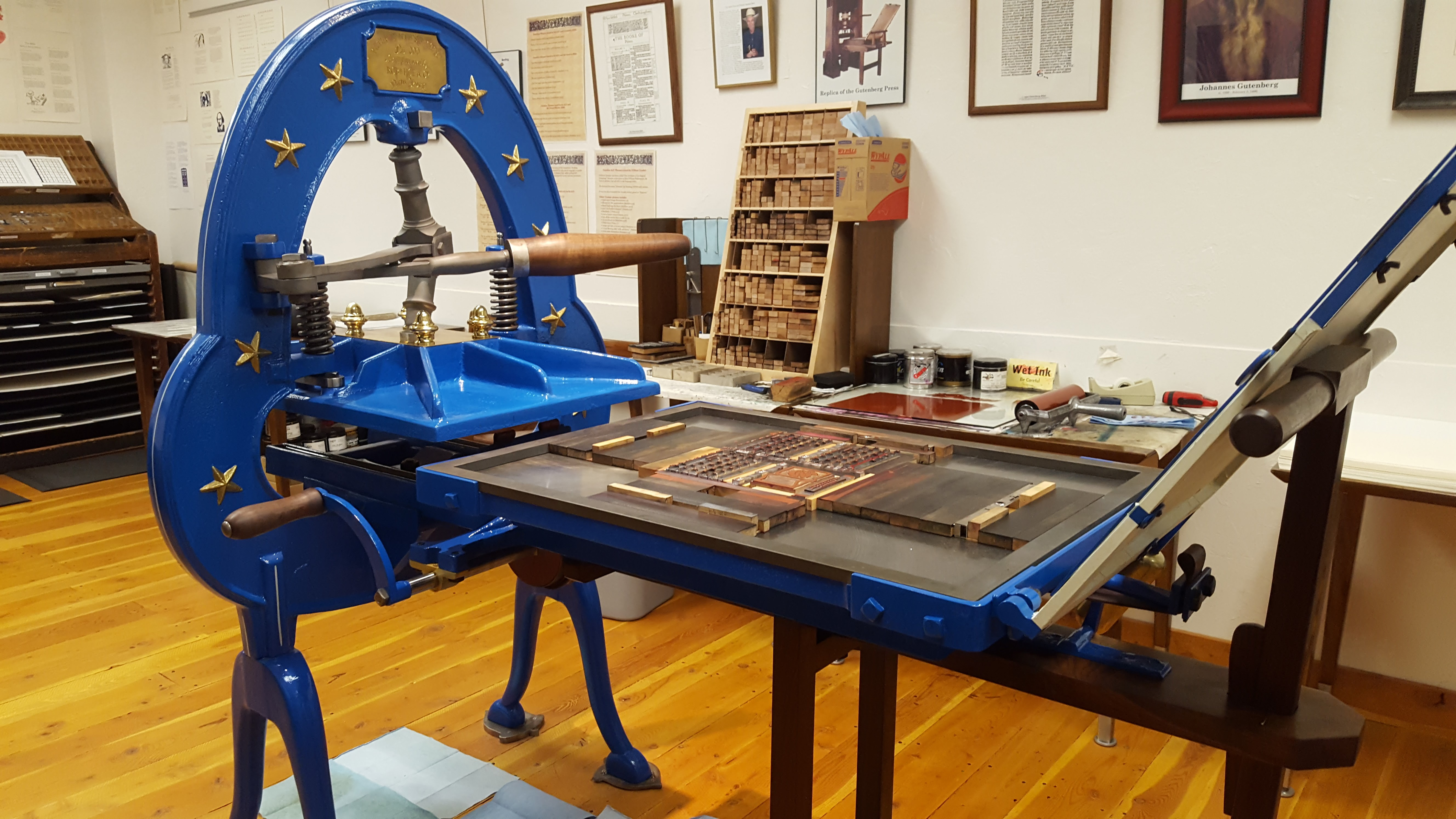Open Printing Press Day