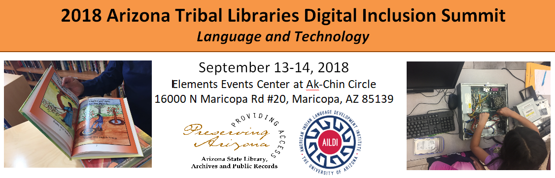 Arizona Tribal Libraries Digital Inclusion Summit