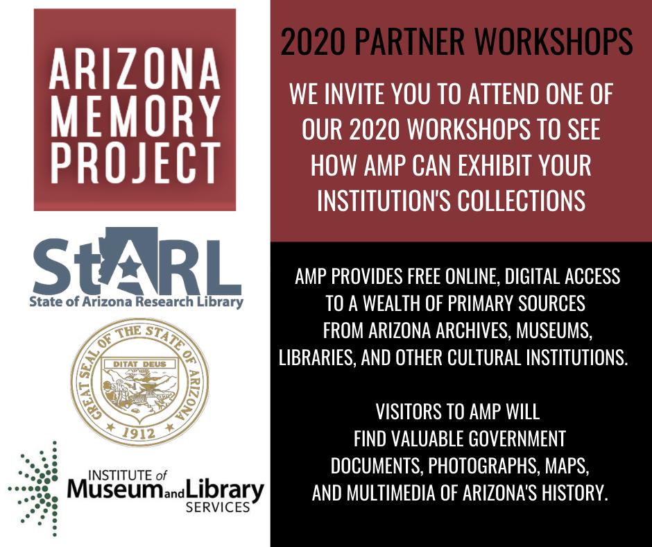 Arizona Memory Project Partner Workshop-Online
