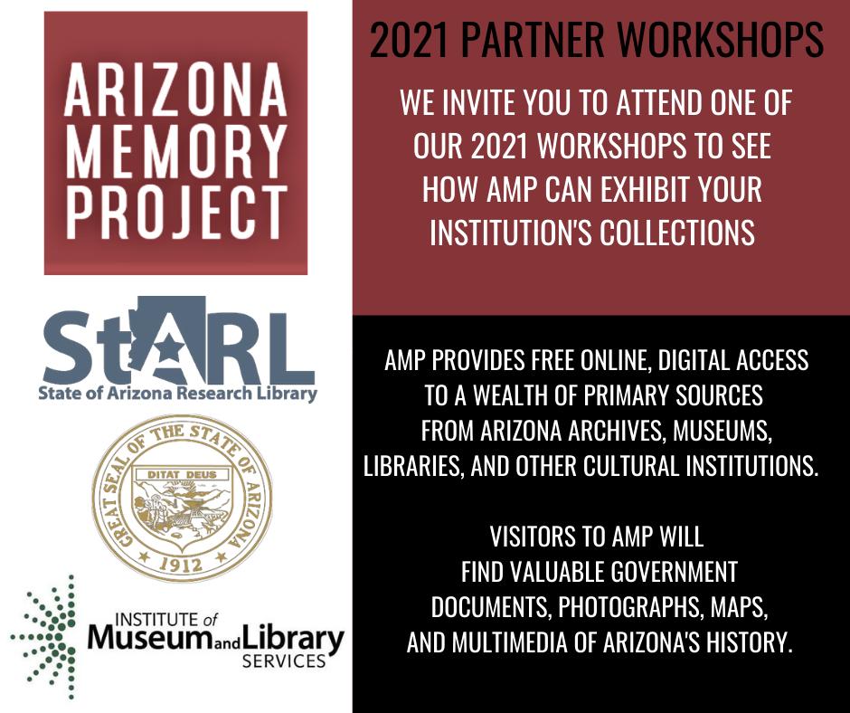 Arizona Memory Project Partner Workshop- ONLINE