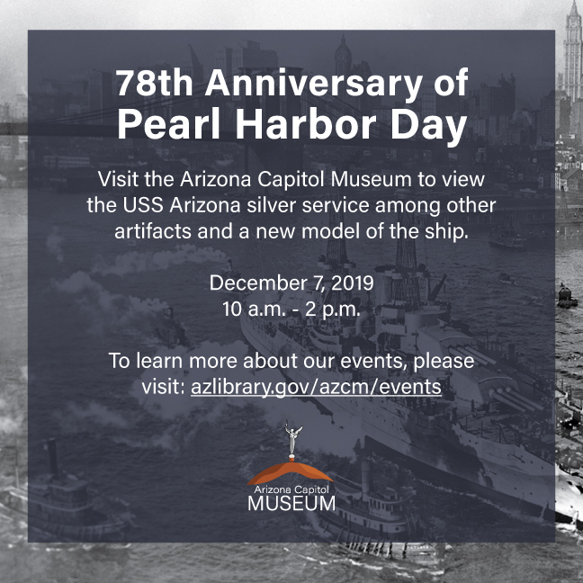 78th Anniversary of Pearl Harbor Day