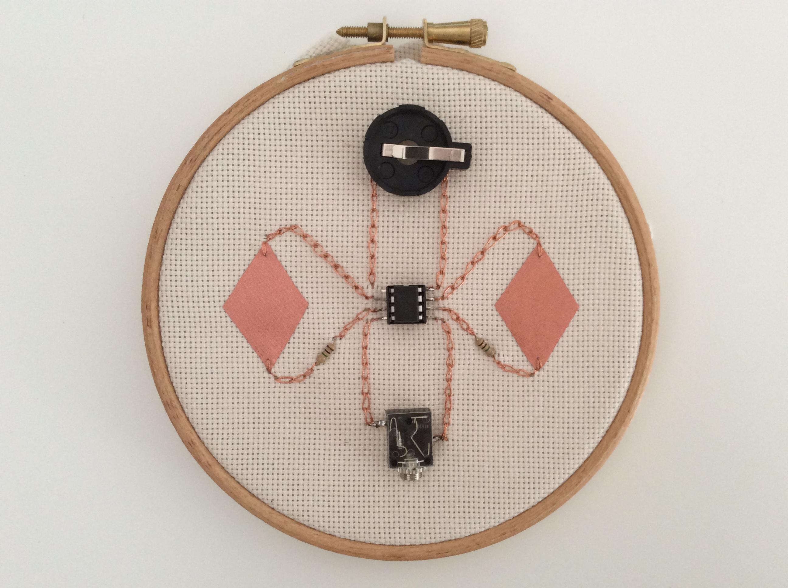 Hand Embroidery + Intro to E-Textiles
