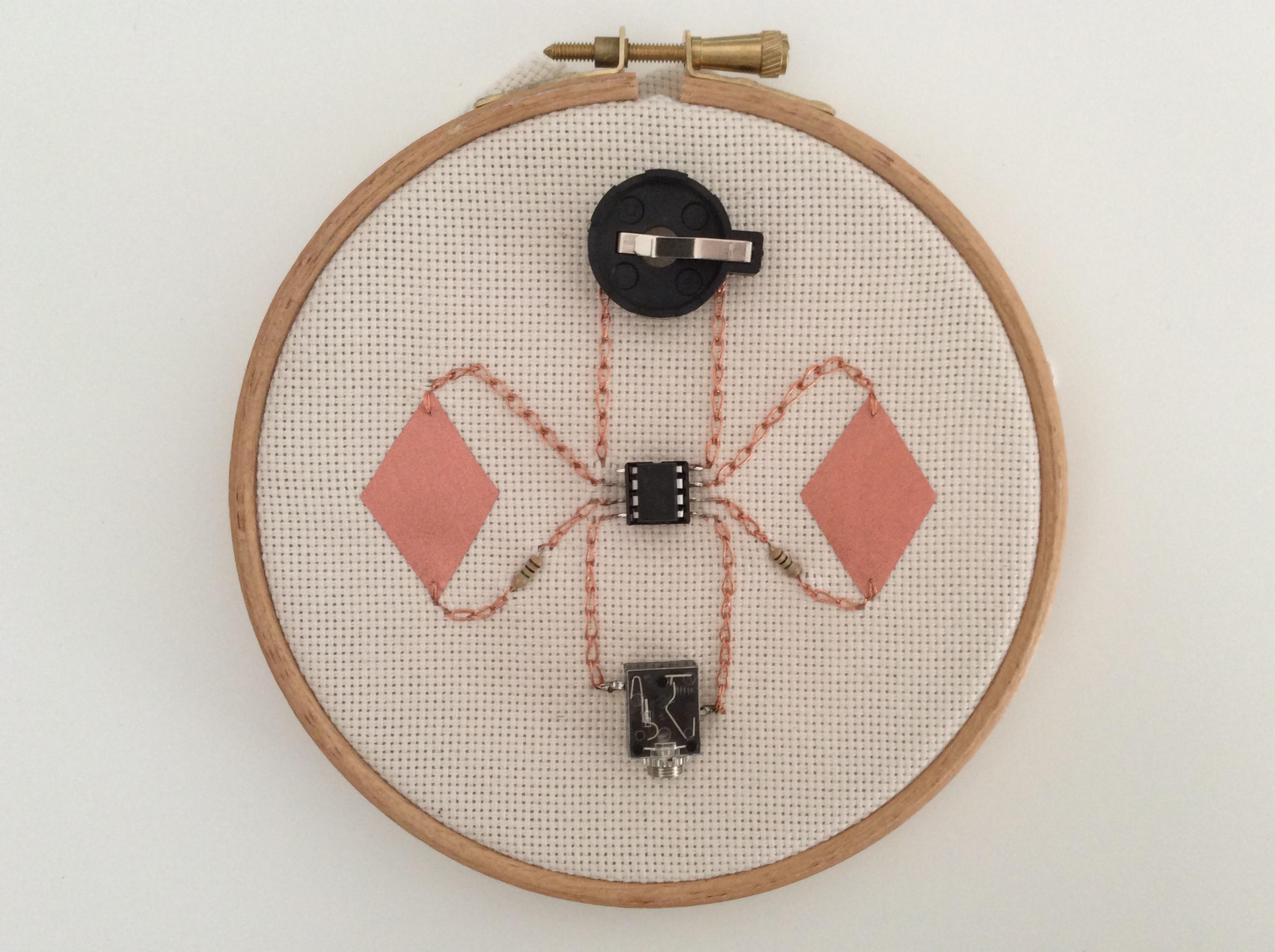 Hand Embroidery + Intro to E-Textiles