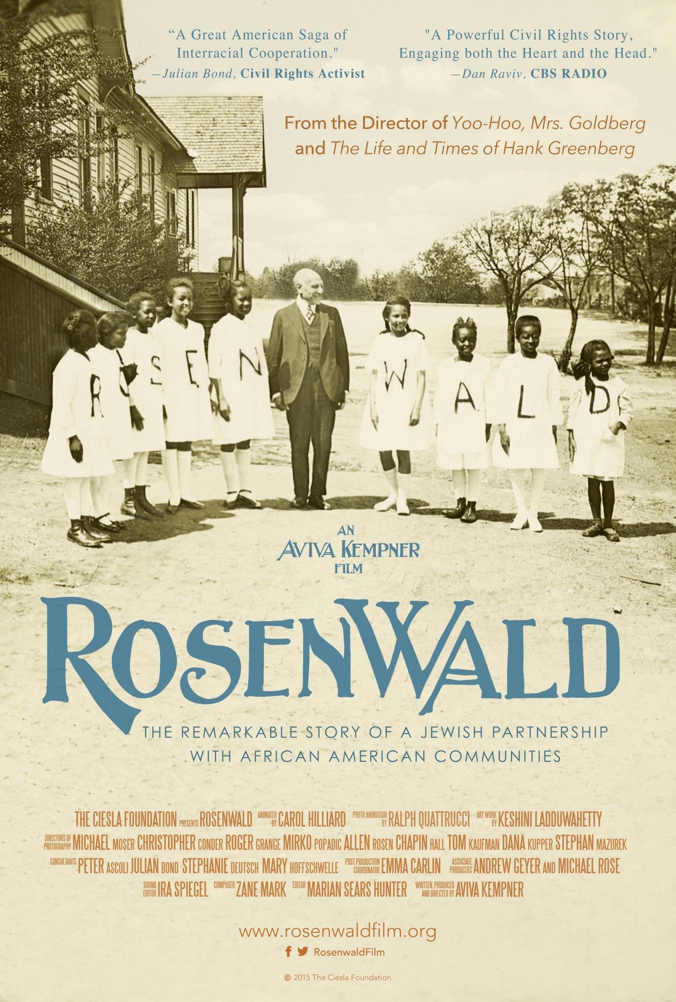 Film Screening, Rosenwald
