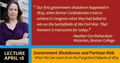 Lecture: The First Government Shutdown of 1879: A Cautionary Tale