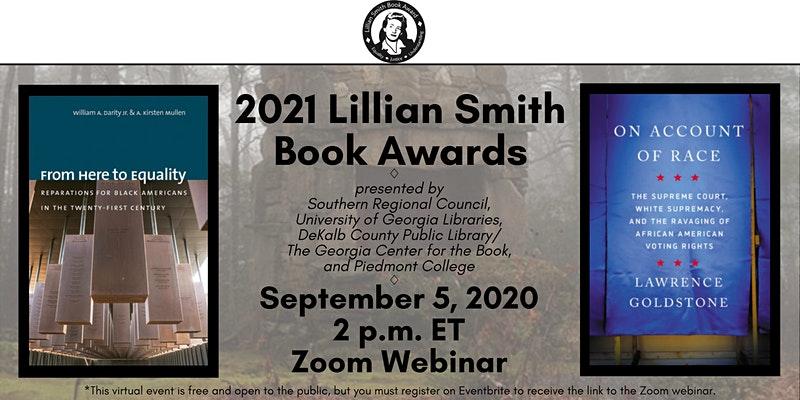 2021 Lillian Smith Book Awards