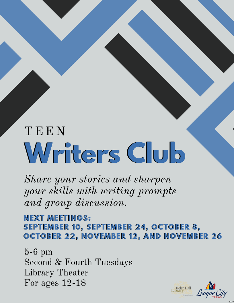 Teen Writers Club