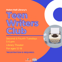 In-Person Teen Writers Club