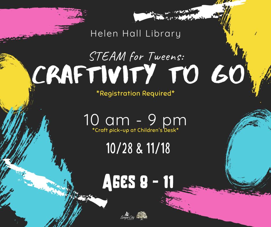 STEAM for Tweens: Craftivity! to Go