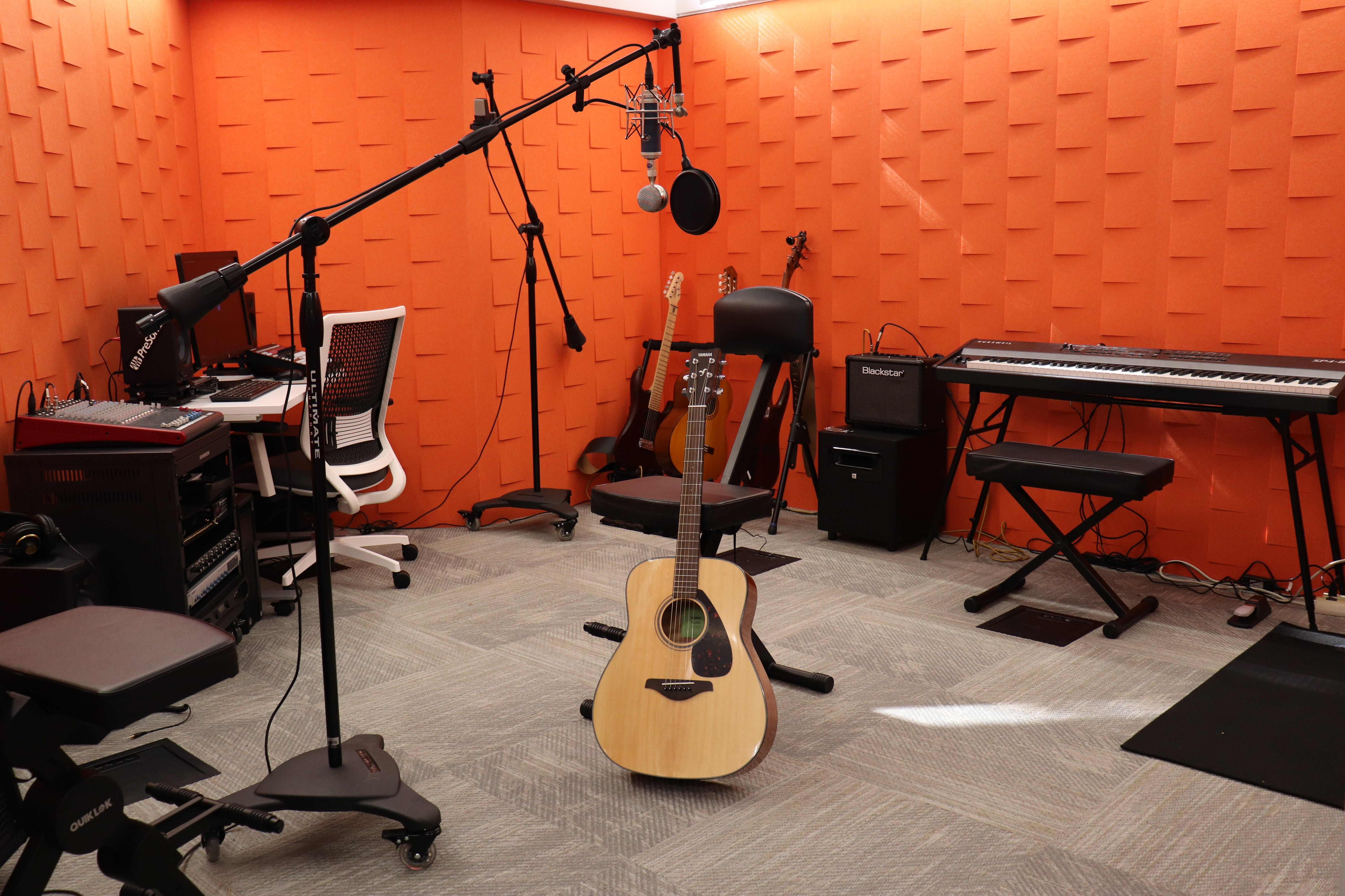 Music Studio Orientation