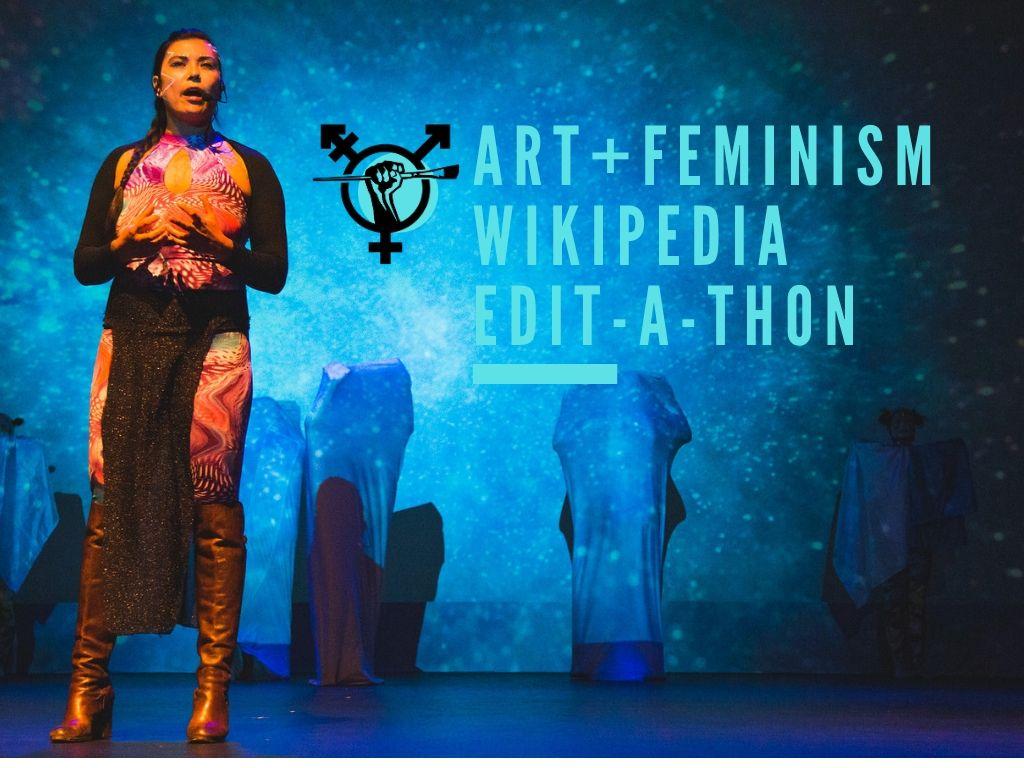 VIRTUAL: Art+Feminism Wikipedia Edit-a-thon