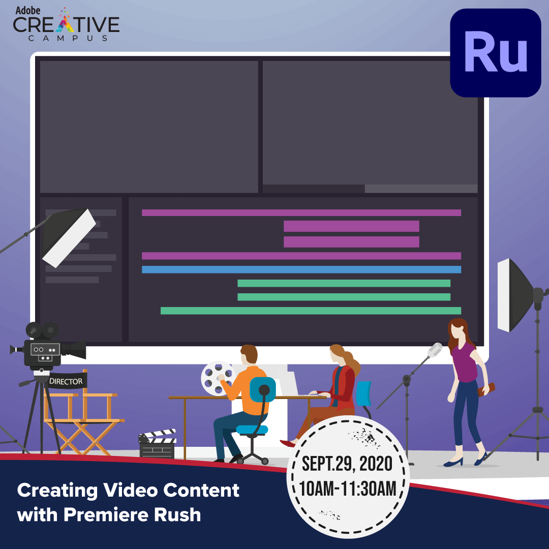 Creating Video Content With Premiere Rush