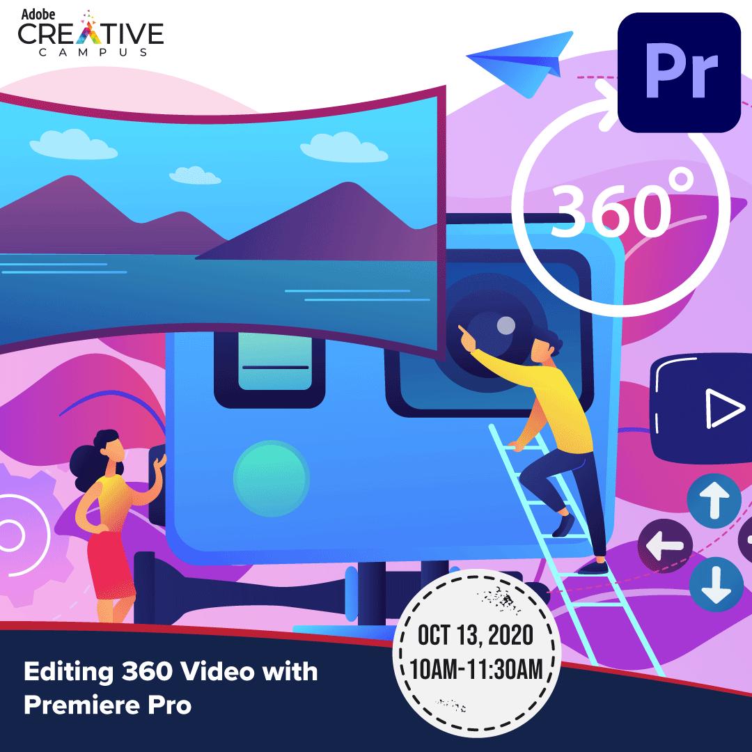 Editing 360 Video in Premiere Pro