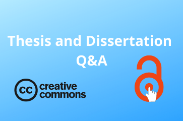 Theses and Dissertations Q&A Drop-in Hours