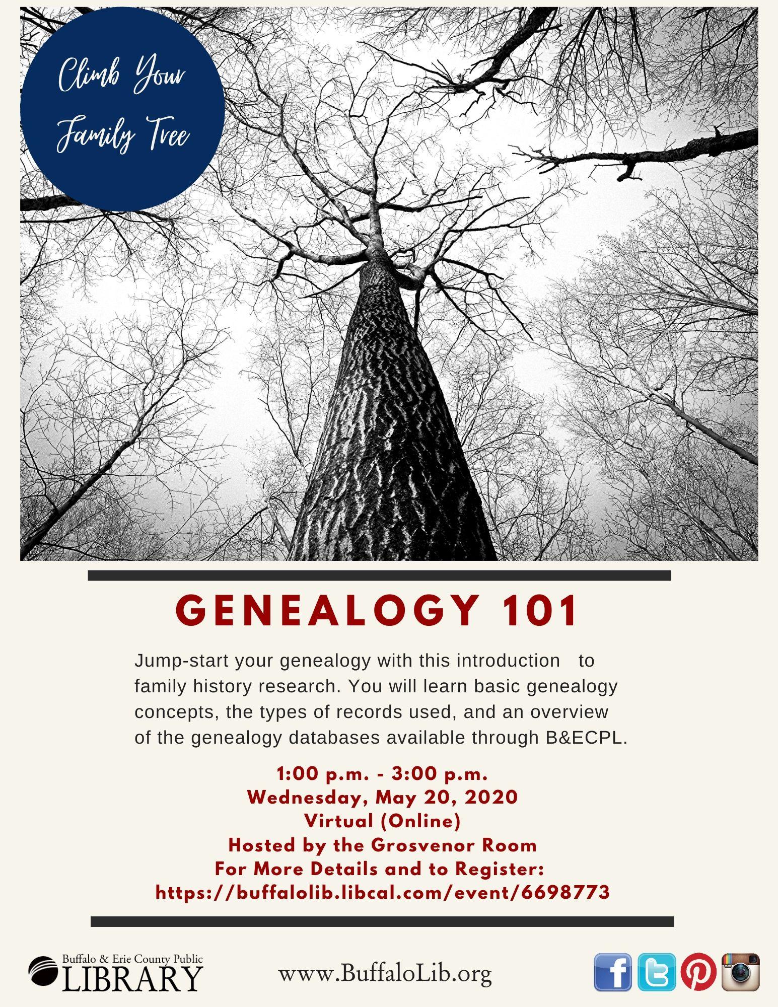 Virtual (online) Genealogy 101