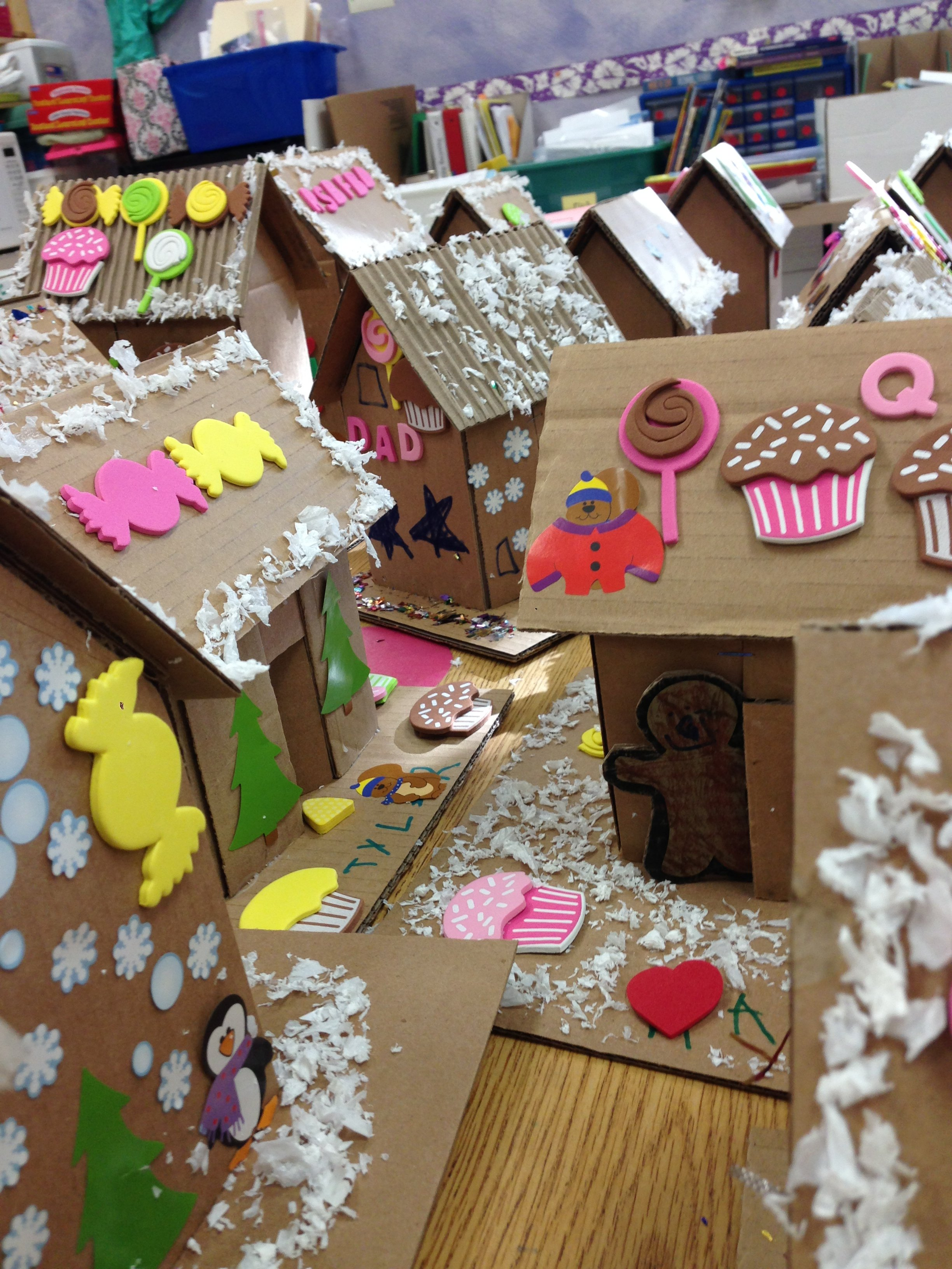Holiday Bag of Junk: Gingerbread Houses!